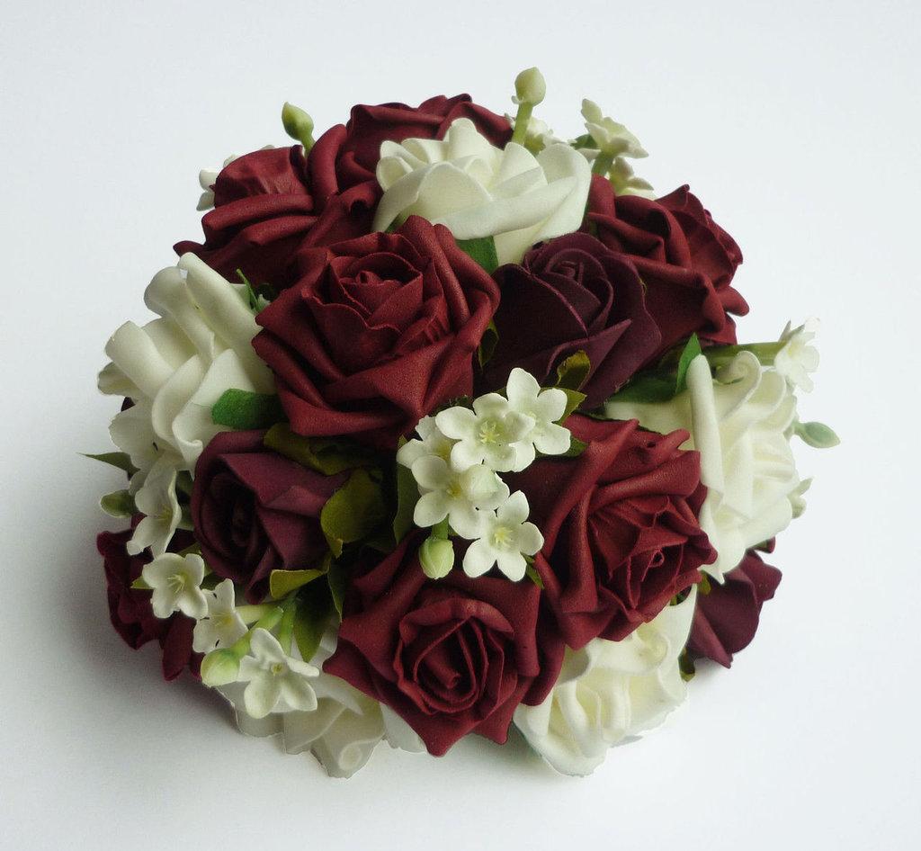 Bouquet Sposa Gelsomino.Bouquet Rose E Gelsomino