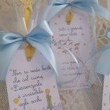 tag piccolo principe +confezione confetti