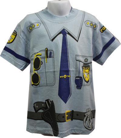 T-shirt Poliziotto tg. 3-4 anni