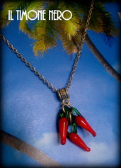 """Pendente """"Chili Peppers"""""""