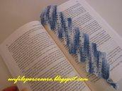 Segnalibro blu