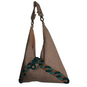 "Borsa in tweed ""Flotsam"""