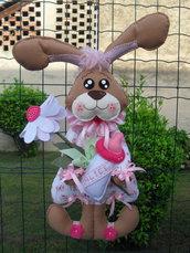 Fiocco nascita....una coniglietta tenera tenera