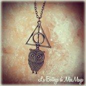 Collana Harry Potter Doni della Morte Edvige
