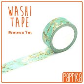 Washi Tape 7 metri - Fiori bianchi