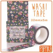 Washi Tape 20mm 5m- Roselline