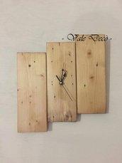 Orologio da parete in legno - Rustico - Moderno