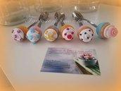 Cucchiaini decorati in fimo