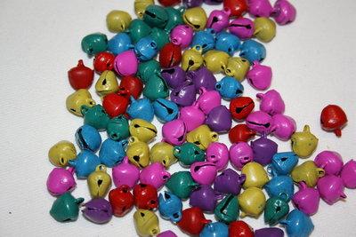 campanellini colorati mm. 10 mix