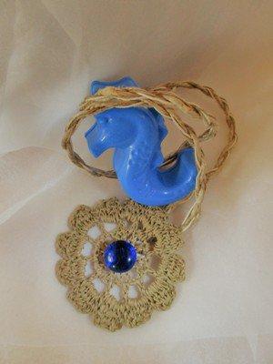 "Fiore di sabbia blu-Collezione ""Ricordi d'estate"""