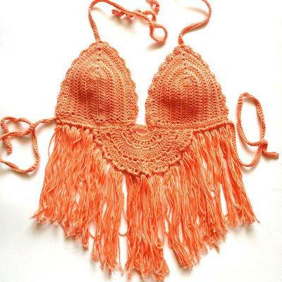 Crop top crochet Aragosta
