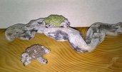 Tartarughe a uncinetto misura piccola