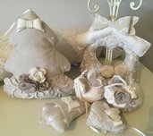 Set/lotto decorazione casa shabby natale Orchidea