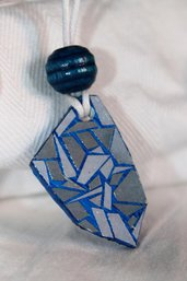 Collana con ciondolo in forex stile mosaico