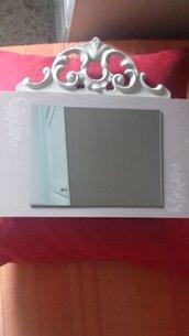Specchio shabby chic!