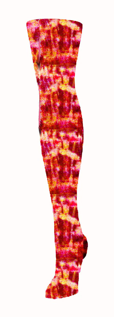 collant / leggings di COTONE modello MANTELLO DI TIGRE