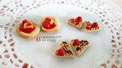 Dolcetti marmellata ciondoli charm fimo pasta polimerica materiale per creare bigiotteria perle