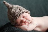 Bio Cappellino per neonati in alpaca Berrettino per neonati Photo prop  Taglia 3 - 6 mesi