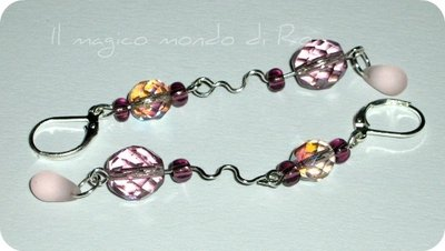 Orecchini Light Amethyst