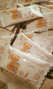 bustine portaconfetti personalizzate caramelle dolcetti comunione compleanno