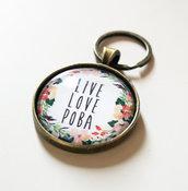 Portachiavi Live Love Poba