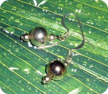 Orecchini Silverball