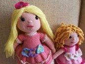 bamboline all'uncinetto amigrumi
