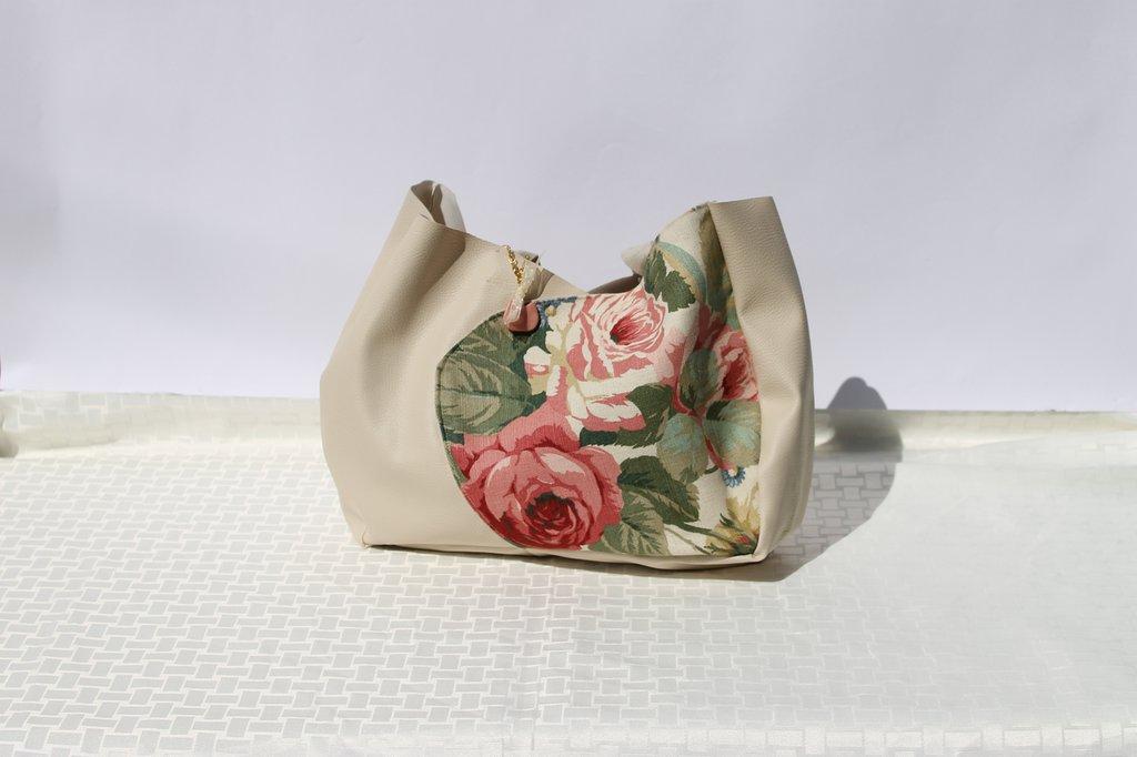 Borsa tulipano rosa