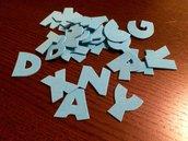 Lettere alfabeto maiuscolo
