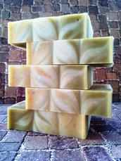 Sapone con pietra pomice, extra esfoliante, fatto a mano