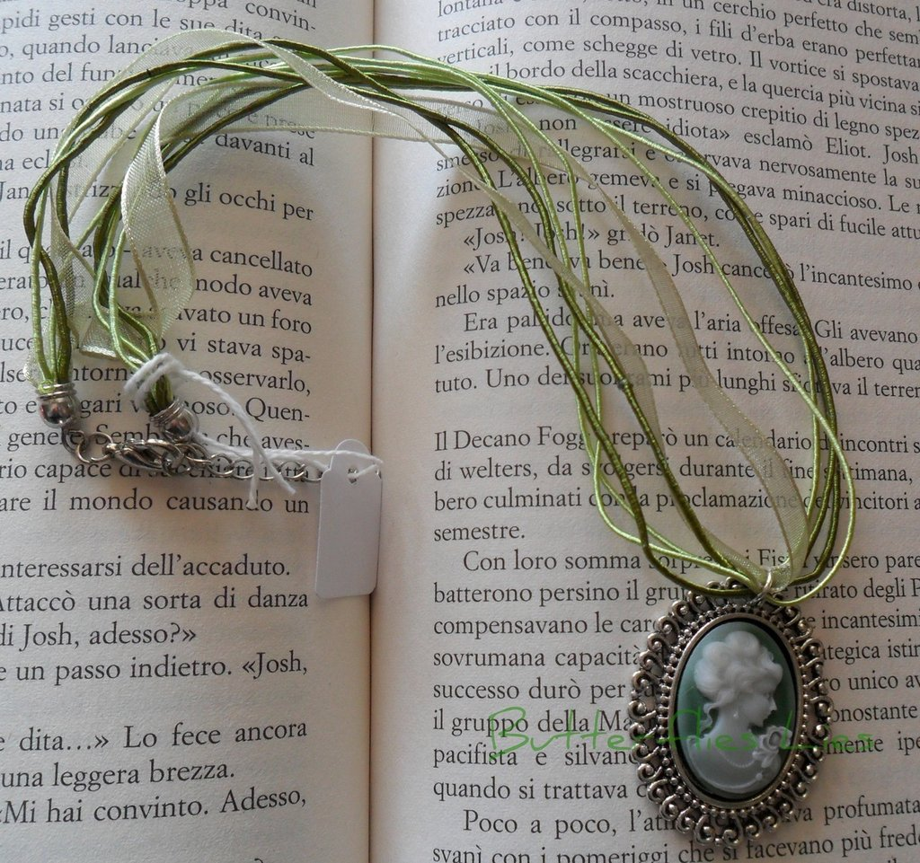Collana Cammeo Verde