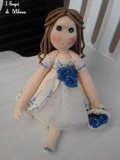 MARIA, bamboline bomboniere per Prima Comunione