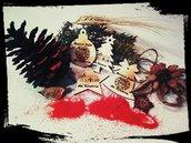 Decorazioni Albero di Natale in legno personalizzate