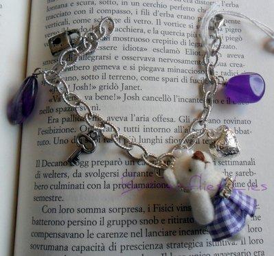 Bracciale Orsetto Viola