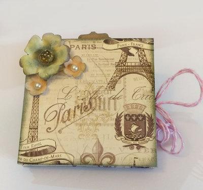 Mini Album Fotografico PARIGI - Matrimonio Battesimo Anniversario - Personalizzabile