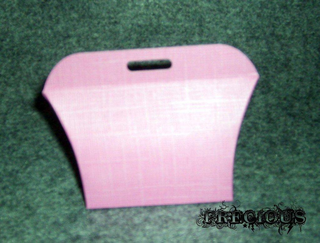 Scatolina regalo rosa