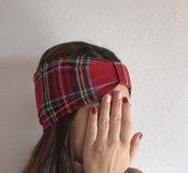 Fascia capelli scozzese