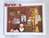 quadretto memory frame - tema harry potter