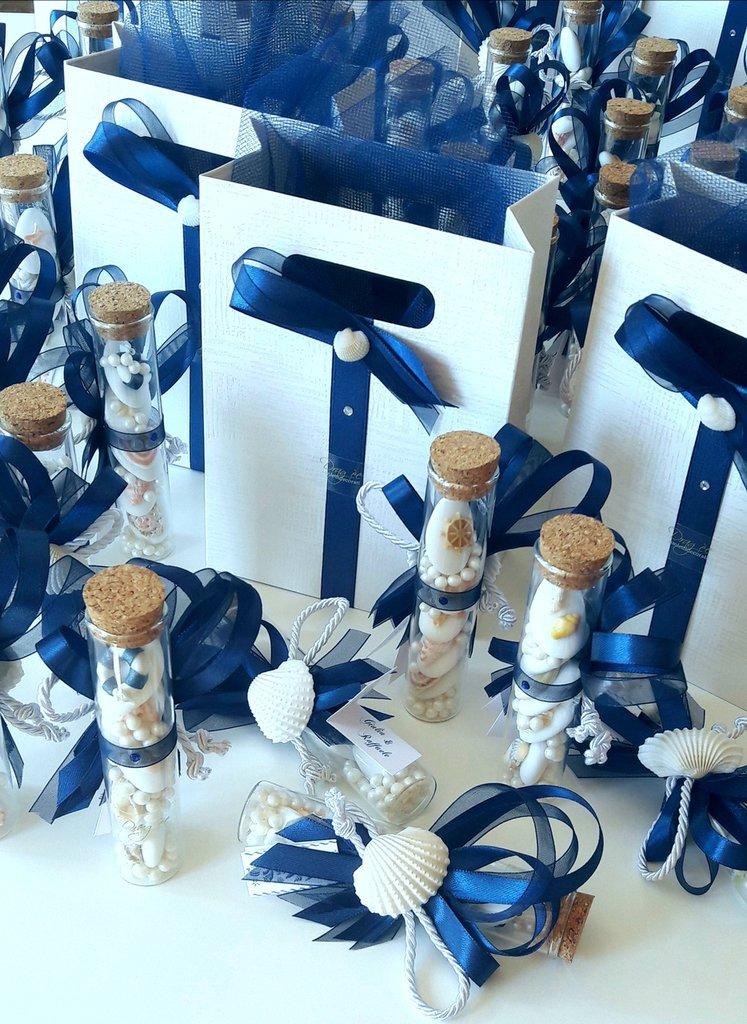 Bomboniera Matrimonio Natalizio : Bomboniera provetta matrimonio
