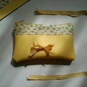 Mini bag giallo limone