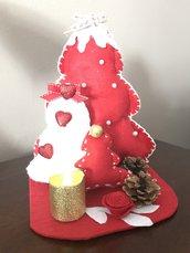 Composizione natalizia Albero di Natale