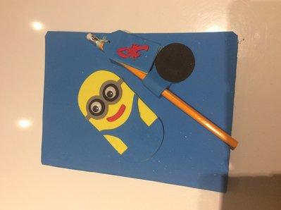 Quaderno dei Minions