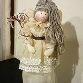 Bambola pigottina fatta a mano
