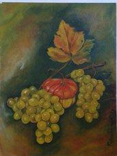 dipinto olio su carta (22) natura morta poster-quadro