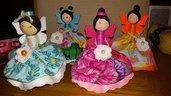 Bamboline ballerine colorate