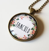 Collana Fanculo Floreale