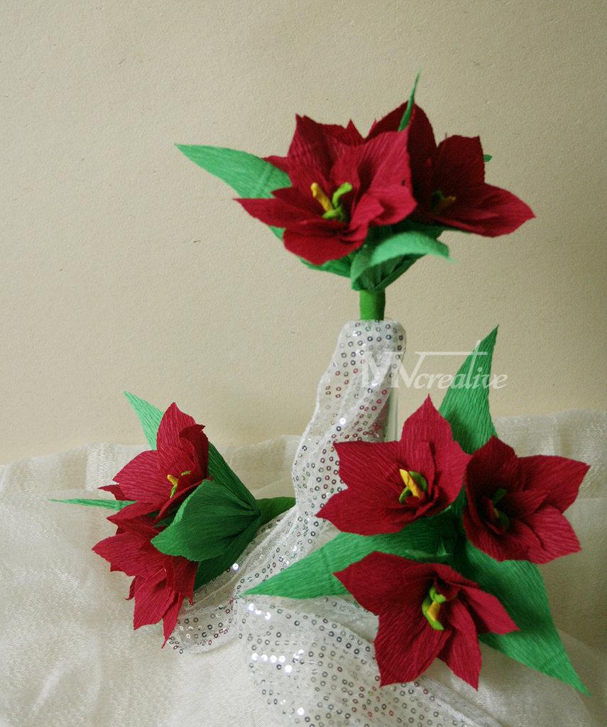 Bouquet stelle di natale feste natale di mvcretive for Stelle di natale