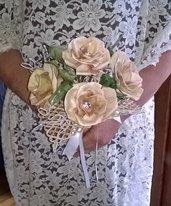 Bouquet da sposa in cartoccio