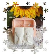 Stampo *Libro con calice e croce*