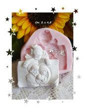 Stampo *Libro con Angelo e Sacra Famiglia*